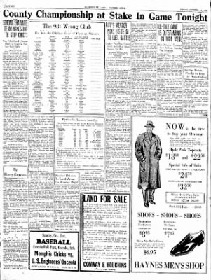 The Courier News from Blytheville, Arkansas on October 19, 1934 · Page 6