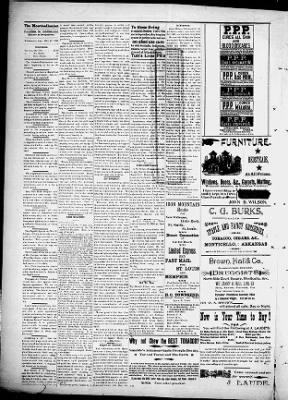 The Monticellonian from Monticello, Arkansas on October 25, 1895 · 2