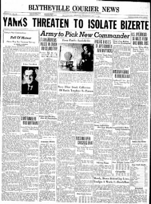The Courier News from Blytheville, Arkansas on May 5, 1943 · Page 1