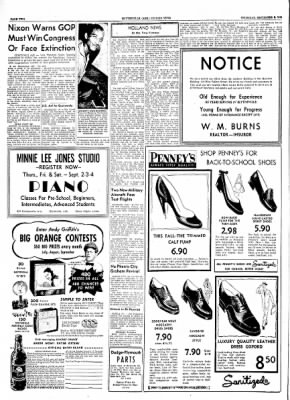 The Courier News from Blytheville, Arkansas on September 2, 1954 · Page 2
