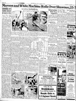 The Courier News from Blytheville, Arkansas on October 20, 1934 · Page 6