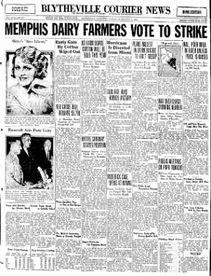 The Courier News from Blytheville, Arkansas on September 6, 1932 · Page 1
