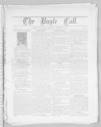 Sample Bugle Call front page