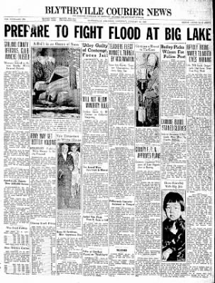 The Courier News from Blytheville, Arkansas on January 16, 1937 · Page 1