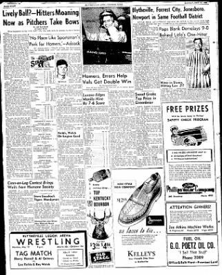 The Courier News from Blytheville, Arkansas on May 12, 1952 · Page 8