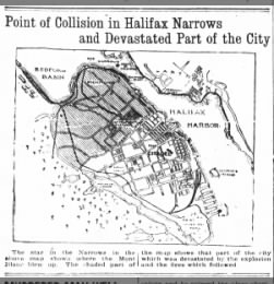 Destruction at Halifax Harbor