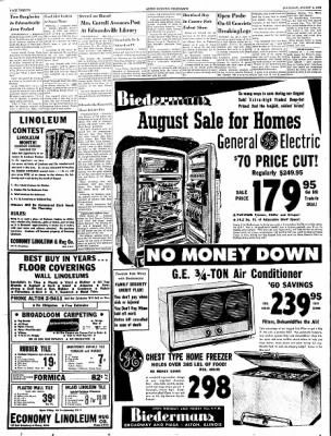 Alton Evening Telegraph from Alton, Illinois on August 2, 1956 · Page 20