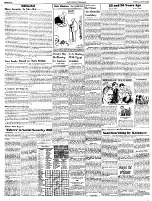 Alton Evening Telegraph from Alton, Illinois on August 3, 1956 · Page 4