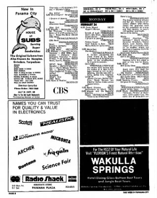 Panama City News-Herald from Panama City, Florida on February 25, 1973 · Page 48