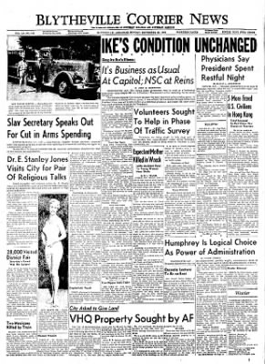 The Courier News from Blytheville, Arkansas on September 26, 1955 · Page 1
