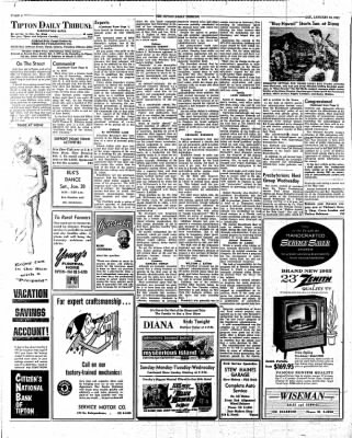 The Tipton Daily Tribune from Tipton, Indiana on January 20, 1962 · Page 6