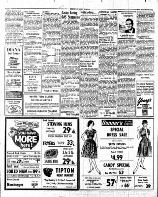 The Tipton Daily Tribune from Tipton, Indiana on January 24, 1962 · Page 6