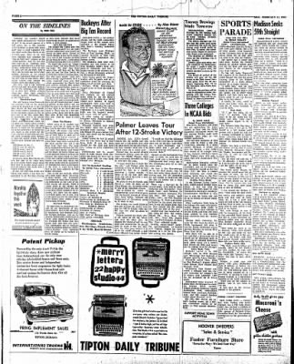 The Tipton Daily Tribune from Tipton, Indiana on February 12, 1962 · Page 4