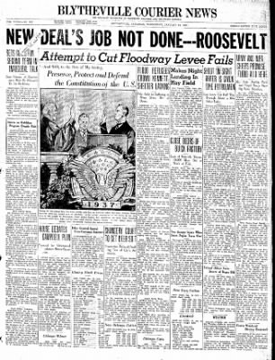 The Courier News from Blytheville, Arkansas on January 20, 1937 · Page 1