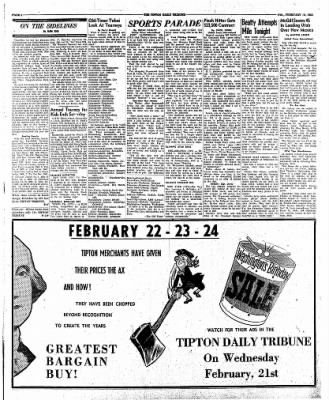The Tipton Daily Tribune from Tipton, Indiana on February 16, 1962 · Page 4