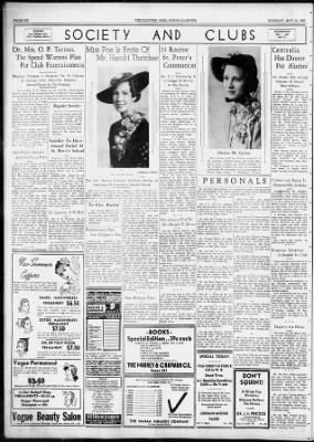Chillicothe Gazette from Chillicothe, Ohio on May 31, 1938 · 6