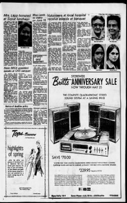 Chillicothe Gazette from Chillicothe, Ohio on May 17, 1974 · 5