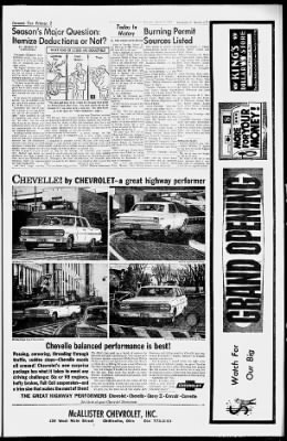Chillicothe Gazette from Chillicothe, Ohio on March 3, 1964 · 7