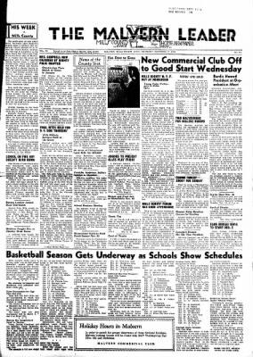 The Malvern Leader from Malvern, Iowa on November 21, 1946 · Page 1