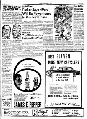 The Courier News from Blytheville, Arkansas on September 26, 1955 · Page 10