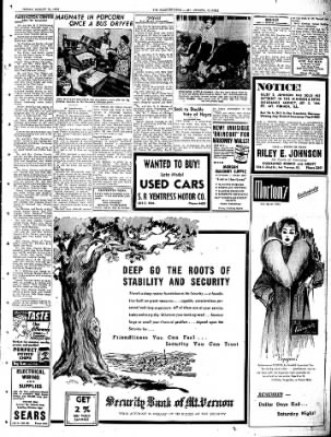 Mt. Vernon Register-News from Mt Vernon, Illinois on August 15, 1952 · Page 3