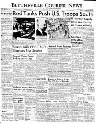 The Courier News from Blytheville, Arkansas on July 12, 1950 · Page 1