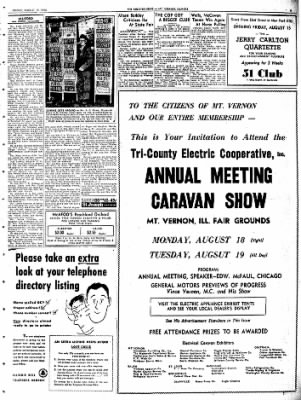 Mt. Vernon Register-News from Mt Vernon, Illinois on August 15, 1952 · Page 9