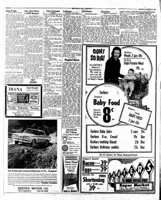 The Tipton Daily Tribune from Tipton, Indiana on March 12, 1962 · Page 6