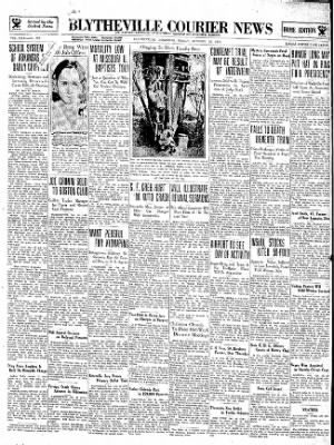 The Courier News from Blytheville, Arkansas on October 26, 1934 · Page 1