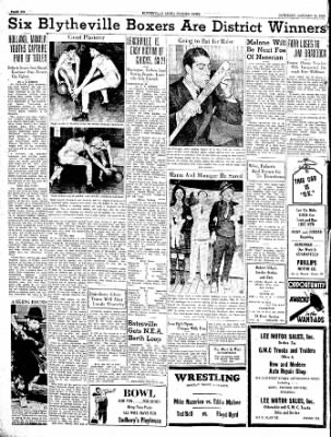 The Courier News from Blytheville, Arkansas on January 22, 1938 · Page 6