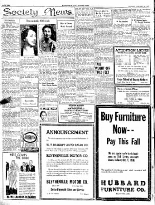 The Courier News from Blytheville, Arkansas on January 24, 1938 · Page 2
