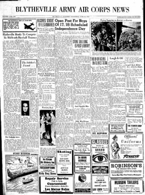 The Courier News from Blytheville, Arkansas on June 30, 1943 · Page 6