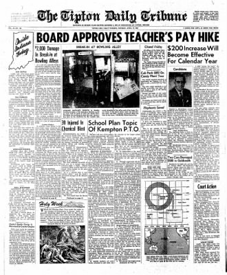 The Tipton Daily Tribune from Tipton, Indiana on April 17, 1962 · Page 1