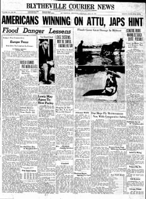 The Courier News from Blytheville, Arkansas on May 15, 1943 · Page 1
