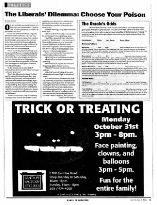 The Santa Fe Reporter from Santa Fe, New Mexico on October 26, 1994 · Page 33