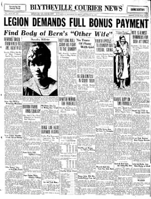 The Courier News from Blytheville, Arkansas on September 15, 1932 · Page 1