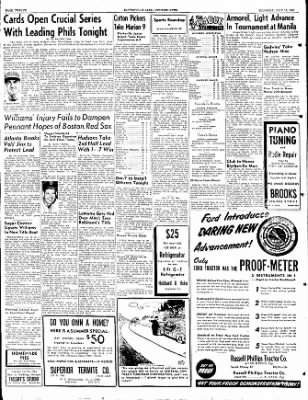 The Courier News from Blytheville, Arkansas on July 13, 1950 · Page 12