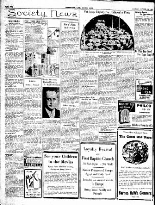 The Courier News from Blytheville, Arkansas on October 29, 1934 · Page 4