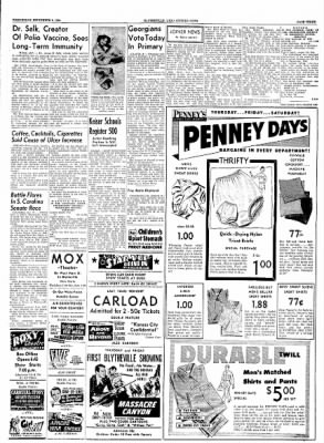 The Courier News from Blytheville, Arkansas on September 8, 1954 · Page 3
