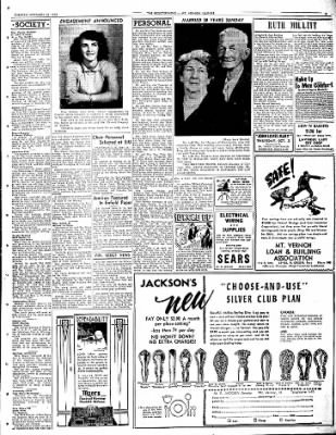 Mt. Vernon Register-News from Mt Vernon, Illinois on September 23, 1952 · Page 7
