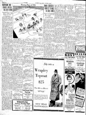The Courier News from Blytheville, Arkansas on October 29, 1934 · Page 8