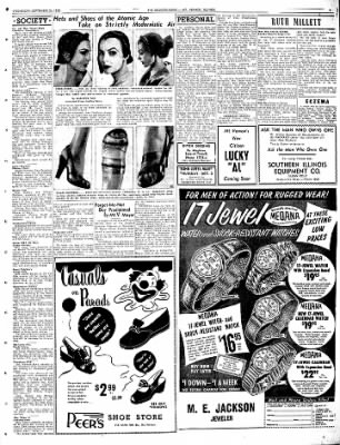 Mt. Vernon Register-News from Mt Vernon, Illinois on September 24, 1952 · Page 9
