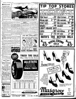 Mt. Vernon Register-News from Mt Vernon, Illinois on September 25, 1952 · Page 12