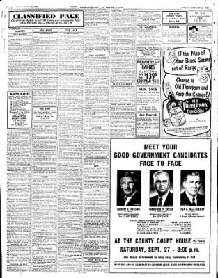 Mt. Vernon Register-News from Mt Vernon, Illinois on September 26, 1952 · Page 12
