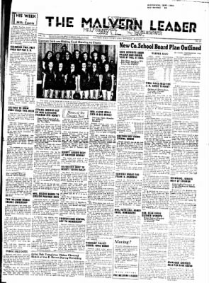The Malvern Leader from Malvern, Iowa on January 15, 1948 · Page 1