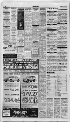 The Marion Star from Marion, Ohio on July 26, 1996 · 20