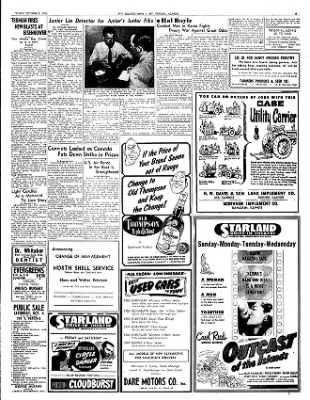 Mt. Vernon Register-News from Mt Vernon, Illinois on October 3, 1952 · Page 5