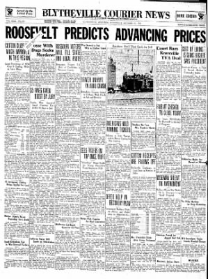The Courier News from Blytheville, Arkansas on October 31, 1934 · Page 1
