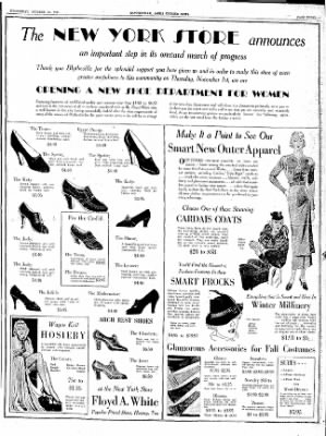 The Courier News from Blytheville, Arkansas on October 31, 1934 · Page 3