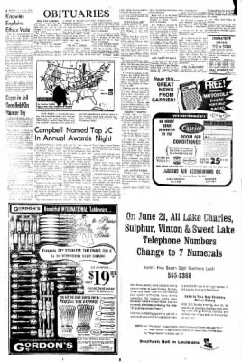 Lake Charles American-Press from Lake Charles, Louisiana on June 21, 1964 · Page 2